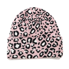 Leopard Print Beanie in Pink – Leopard Print Accessories – Gifts that Give Back – ROX Winter Accessories for Her – Gift Ideas Under $30