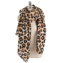 Leopard Print Scarf – Leopard Print Accessories – Gifts that Give Back – ROX Winter Accessories for Her – Gift Ideas Under $40