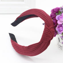 Knotted Fabric Headband in Red – Knotted Headbands for Women – Gifts that Give Back – ROX Accessories for Her – Gift Ideas Under $20