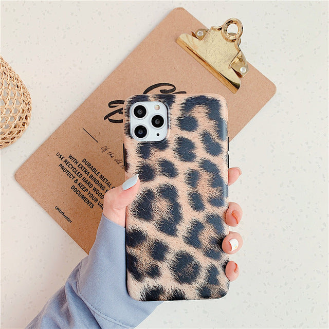 Leopard Print iPhone Case (Multiple Models)