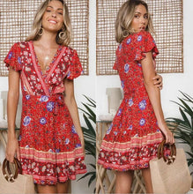 Kaleidoscope Dress in Red – Dress outfits – spring and summer dresses – cute dresses casual – dress outfits – casual summer dresses – dresses that give back to charity – ROX dresses – dress trend 2020 – Casual Outfit Ideas Summer 2020 – long casual dresses – beach vacation outfit - Boho dress