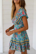 Kaleidoscope Dress in Blue – Dress outfits – spring and summer dresses – cute dresses casual – dress outfits – casual summer dresses – dresses that give back to charity – ROX dresses – dress trend 2020 – Casual Outfit Ideas Summer 2020 – long casual dresses – beach vacation outfit - Boho dress