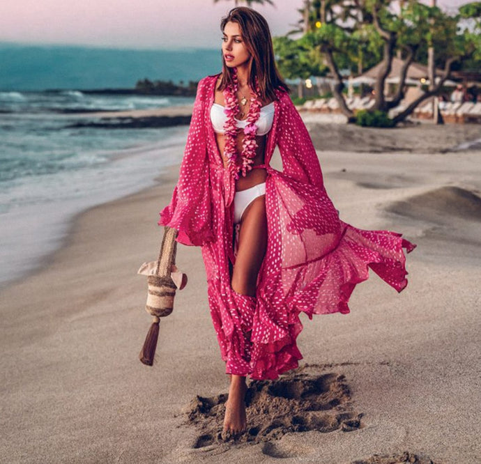 Am I Dreaming Pink Swimsuit Cover Up – Swimsuit coverups beach – swimsuit coverups boho – Beach cover up – bathing suit cover up – beachwear for women – swimsuit cover up – summer 2020 beach outfit – beach vacation outfit – must have beach outfit – coverups that give back to charity