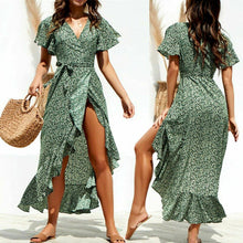 That's a Wrap Dress in Green – Dress outfits – spring and summer dresses – cute dresses casual – dress outfits – casual summer dresses – dresses that give back to charity – ROX dresses – dress trend 2020 – Casual Outfit Ideas Summer 2020 – long casual dresses – beach vacation outfit - Best Vacation Outfits