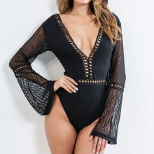 Breezy Long Sleeve Bodysuit in Black – cute outfits – bodysuit outfit jeans – date night outfit – casual summer outfit – tank top body suits that give back to charity – Beach vacation outfit – bell sleeve flare sleeve – Casual Outfit Ideas Summer – boho bodysuit