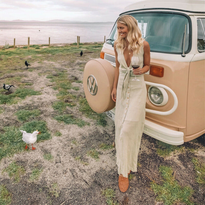Vineyard Chic Maxi Dress – Dress outfits – spring and summer dresses – cute dresses casual – dress outfits – casual summer dresses – dresses that give back to charity – ROX dresses – dress trend 2020 – Casual Outfit Ideas Summer – long casual dresses – beach vacation outfit - Best Vacation Outfits – travel dresses –  Outfits for Napa Outfit – Winery outfit – Vineyard outfit