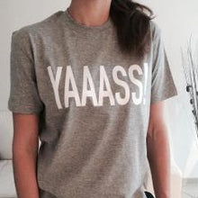 YAAASS Shirt that Gives Back to Charity » Great Gifts for Girls Under $25 » ROX Apparel