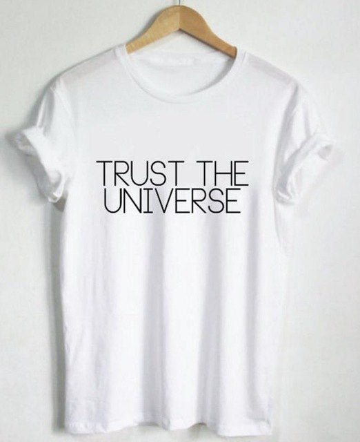 Trust the Universe Shirt that Gives Back to Charity » Great Gift Ideas Under $25 By ROX