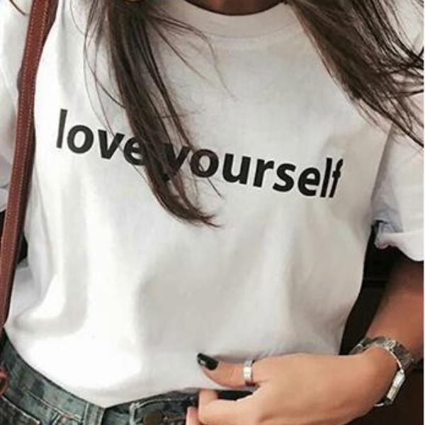 Love Yourself Shirt That Gives Back to Charity » Empowering Women Collection » ROX Gifts Under $25