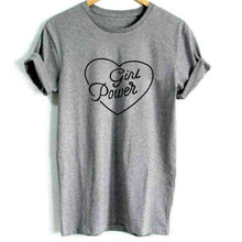 Girl Power Heart Shirt that Gives Back to Charity » Empowering Women Collection » Gift Ideas for her Under $25