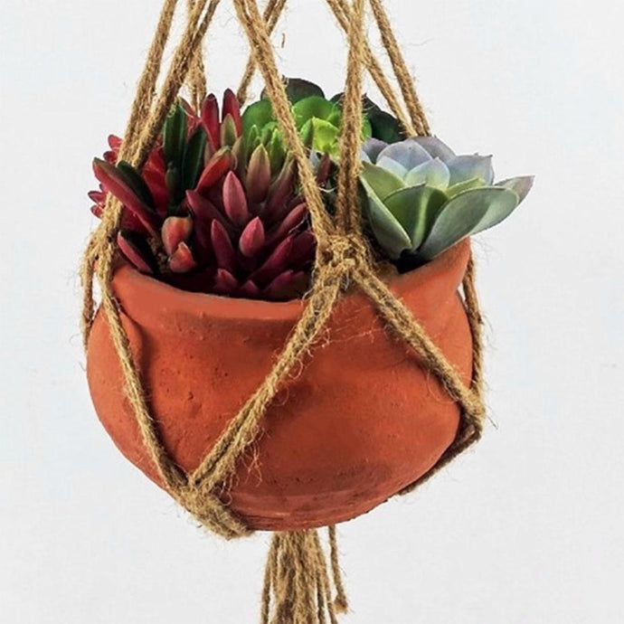 Macrame Hemp Rope Pot Holder