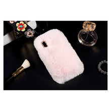 most extra phone case in the world fur phone fuzzy case iPhone x tumblr tech - ROX Jewelry Shop - Tech accessories that give back