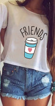 Donuts and Coffee Best Friends Shirt that Gives Back to Charity by ROX Great Gift ideas under $25