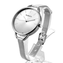 Affordable Stylish Women's Watches that Give back to charity by ROX Jewelry - Amber Watch in Silver and White