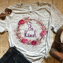 Be Kind Wreath Shirt that Gives Back to Charity by ROX – Great gifts that give back for her under $30 – Apparel for a cause