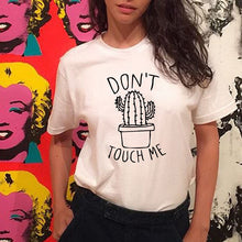 Don't Touch Me Cactus Shirt that Gives Back to Charity by ROX – Great gifts that give back for her under $30 – Apparel for a cause