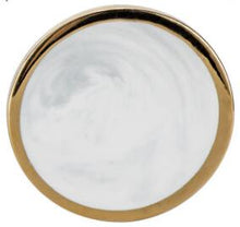 Marble and Gold Circular Coasters that give back to charity by ROX Home Decor - Luxe Modern Home decor ideas under $15