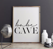 Babe Cave Wall Art