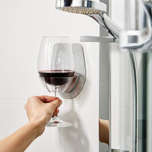 Shower Wine Glass Holder that Gives Back to Charity by ROX – Great Gifts for Wine Lovers Under $25