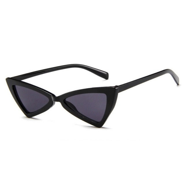 Maya Angled Triangle Sunglasses that Give Back to Charity by ROX in Black – Trendy and Affordable Sunnies that Give back