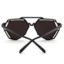 Erin Hexagon Sunglasses that Give Back to Charity by ROX in Black – Trendy and Affordable Sunnies that Give back
