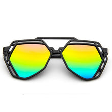 Erin Hexagon Sunglasses that Give Back to Charity by ROX in Rainbow – Trendy and Affordable Sunnies that Give back
