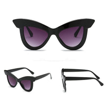 Chiara Bold Cat Eye Sunglasses that Give Back to Charity by ROX in Black – Trendy and Affordable Sunnies that Give back