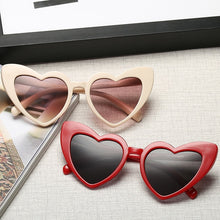 Amanda Heart Cat Eye Sunglasses that Give Back to Charity by ROX in Red – Trendy and Affordable Sunnies that Give back