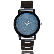 Samantha Watch in Blue that Gives Back to Charity – Metal Women's Watches with No Numbers – Pretty Little Things Watch Sale – Gifts that Give Back – Affordable Gift Ideas for Girlfriend– ROX Jewelry