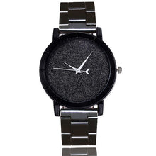 Samantha Watch in Black that Gives Back to Charity – Metal Women's Watches with No Numbers – Pretty Little Things Watch Sale – Gifts that Give Back – Affordable Gift Ideas for Girlfriend– ROX Jewelry