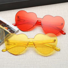 Zoe Heart Sunglasses that Give Back to Charity by ROX in Red and Yellow – Trendy and Affordable Sunnies that Give back