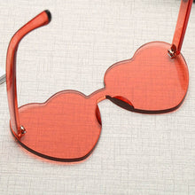 Zoe Heart Sunglasses that Give Back to Charity by ROX in Rose – Trendy and Affordable Sunnies that Give back
