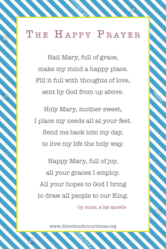 The Happy Prayer