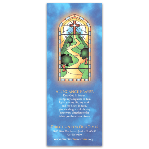The Litany of Humility Bookmark