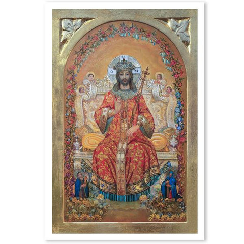 Jesus Christ the Returning King Poster