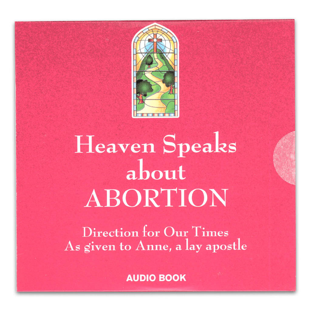 Audiobook CD Heaven Speaks About Abortion