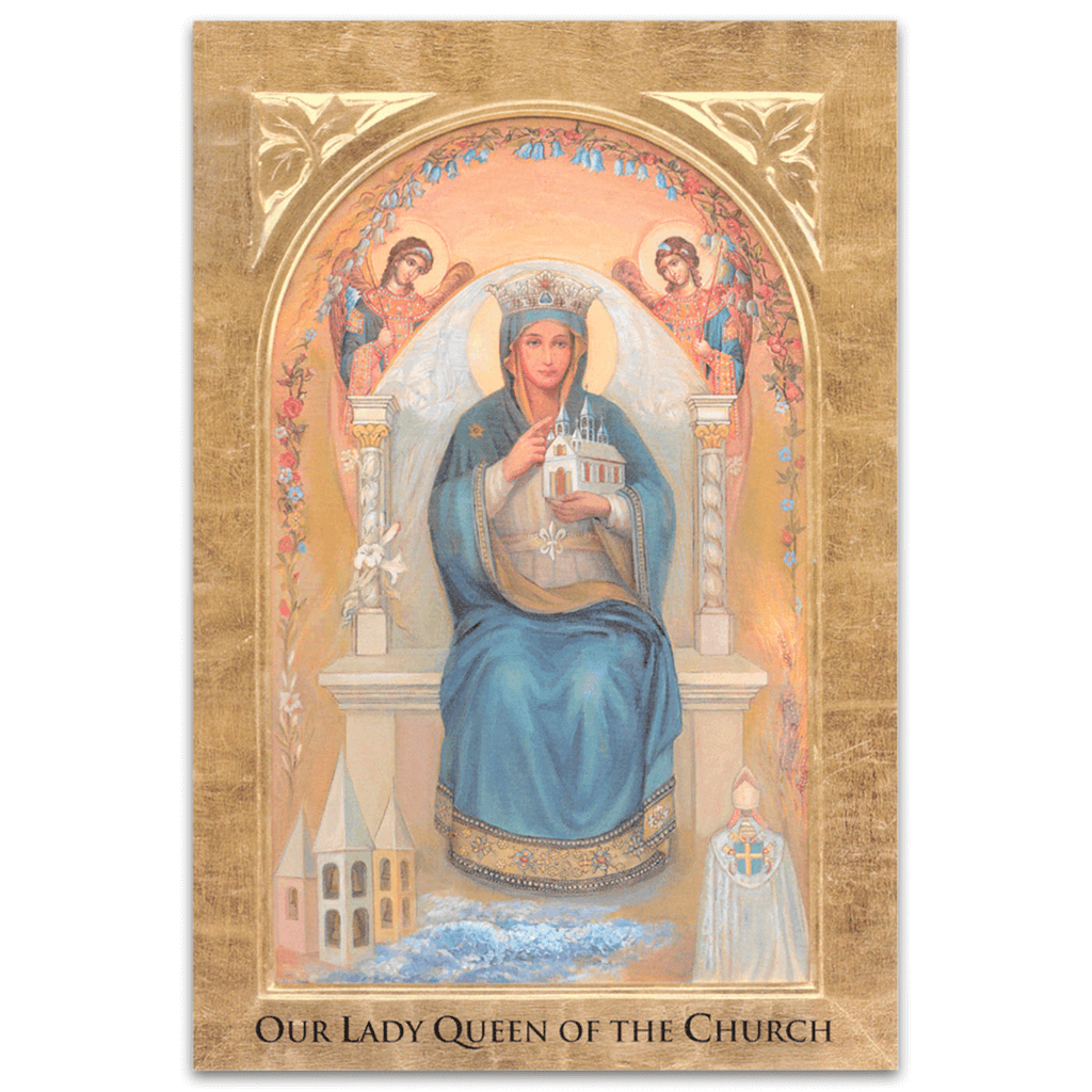 Our Lady Queen of the Church 18x24 Poster