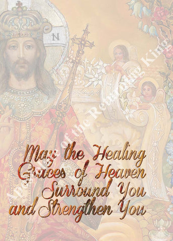 Healing Graces Mass Card