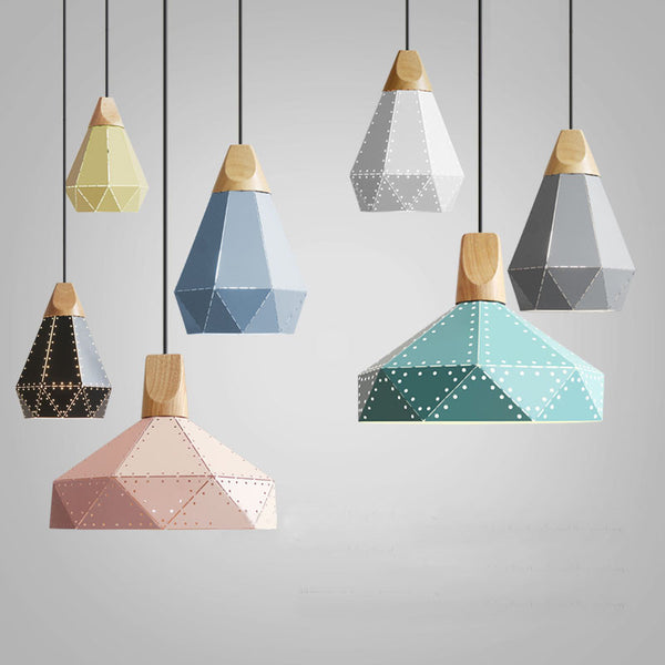 Nordic Loft Industrial Laser Cutting Pendant Lamp Free Shipping