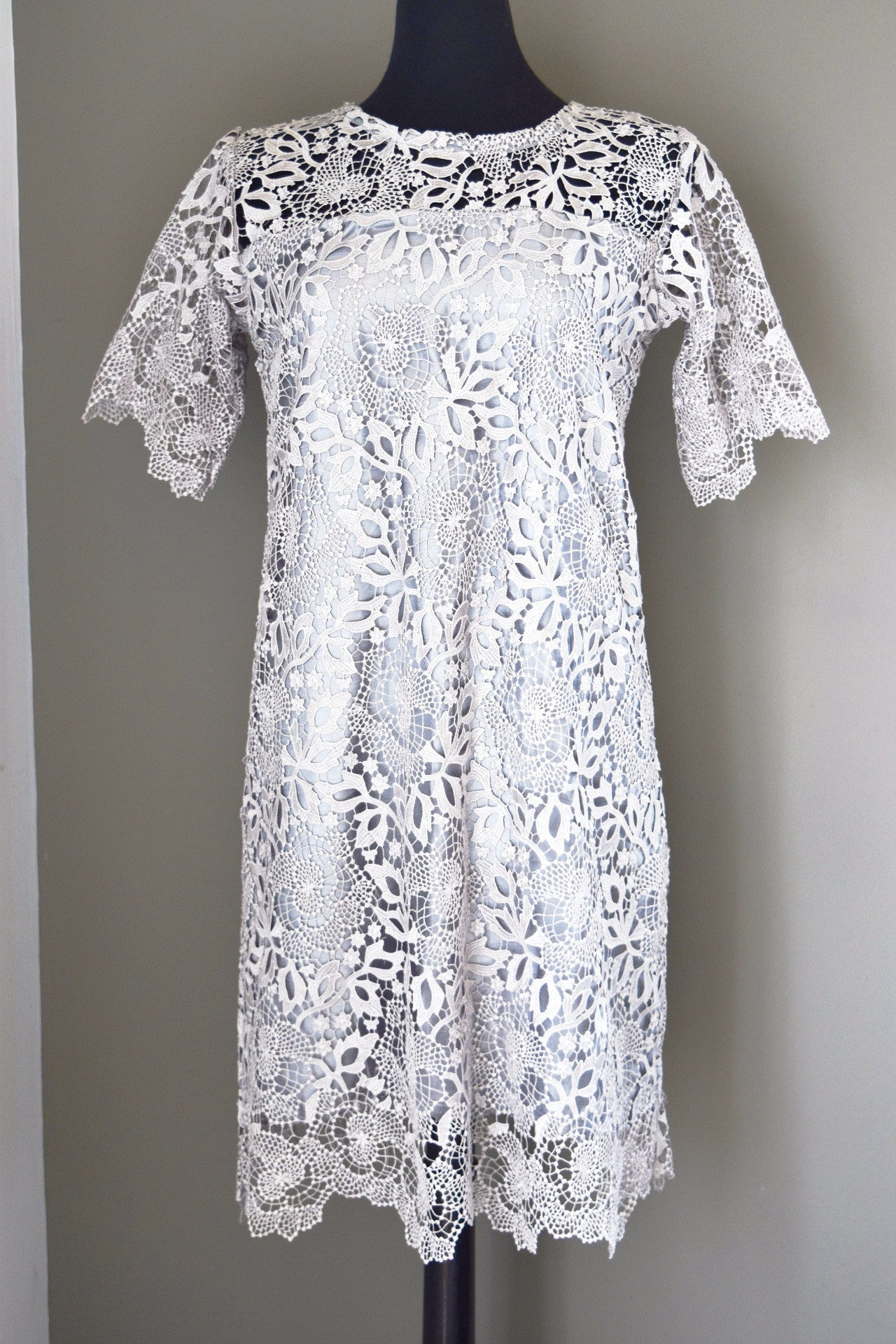 Valentina lace dress (Grey)