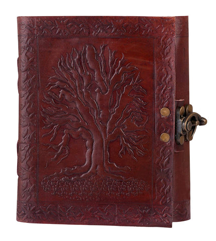 HandMadeCart Tree Of Life Leather W/ Cord