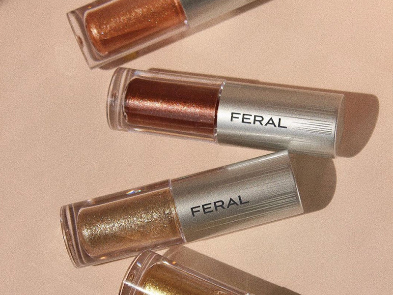 Liquid Eye Shadow gold, bronze and sparkling