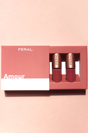 Amour - Mini Duo Matte & Gloss Collection - Limited Edition