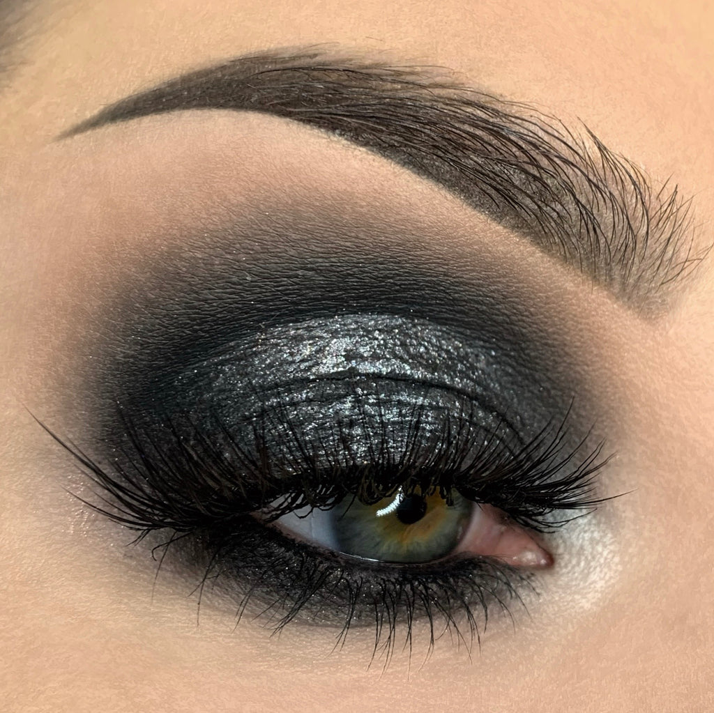 Black As My Soul Liquid Eye Shadow - Feral Cosmetics
