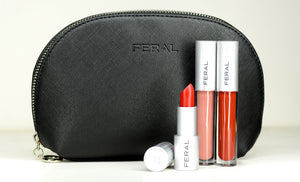 Black Makeup Bag - Feral Cosmetics