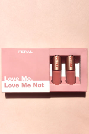Love Me, Love Me Not - Mini Duo Matte & Gloss Collection - Limited Edition