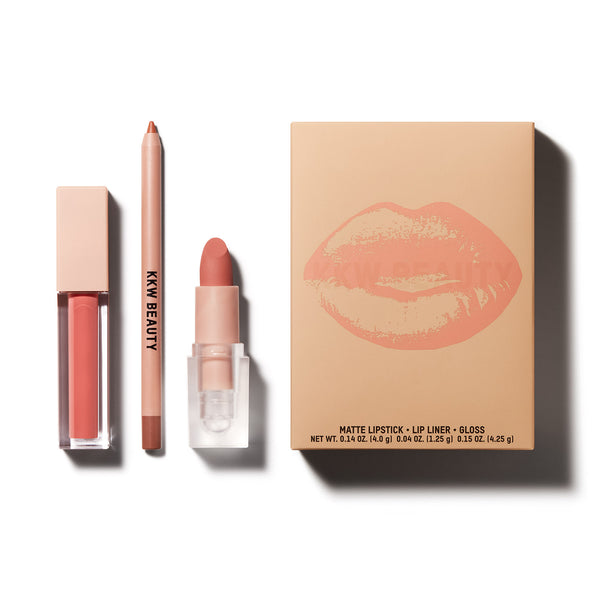Blush 3 pc Lip Set