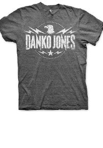 DANKO JONES -Eagle Crest- Heather Charcoal Tee