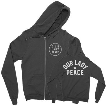 Our Lady Peace - Champion - Black Zip Up Hoodie