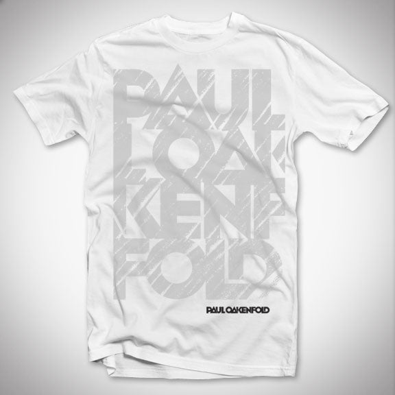PAUL OAKENFOLD Brushed T-Shirt - White